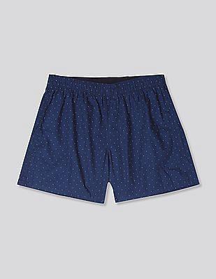 "GAP Blue 4"" Print Boxers"