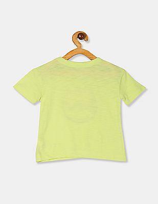 GAP Toddler Girl Green Graphic Short Sleeve T-Shirt