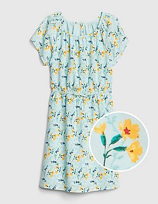 GAP Girls Floral Flutter Dress