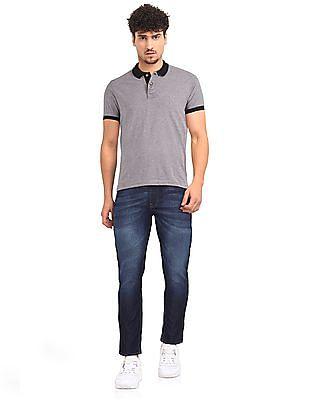 Cherokee Blue Low Rise Slim Fit Jeans