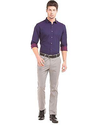 Elitus Patterned Weave Regular Fit Shirt