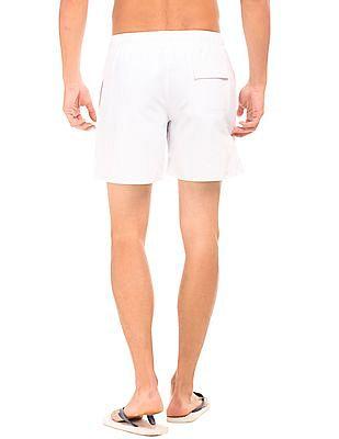 Bayisland Drawstring Waist Board Shorts