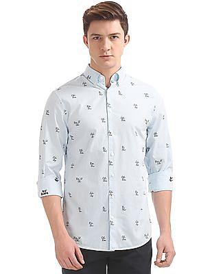 Gant Preppy Fil Coupe Regular Button Down Shirt