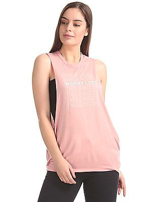 Aeropostale Printed Muscle Tank Top
