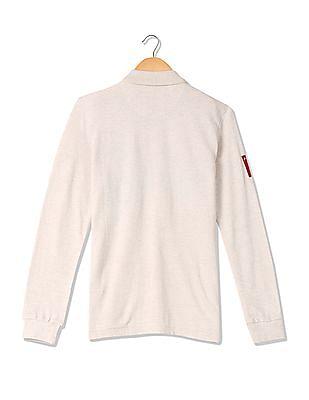 U.S. Polo Assn. Kids Boys Standard Fit Appliqued Polo Shirt