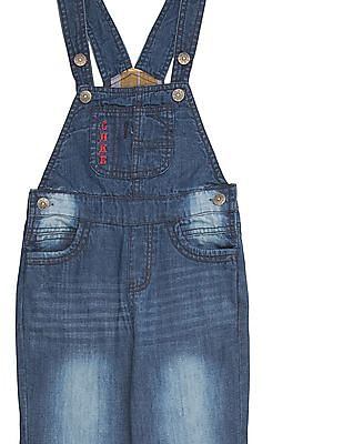 Cherokee Boys Stone Washed Dungarees