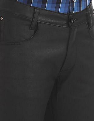 Arrow Newyork Slim Fit Flat Front Trousers