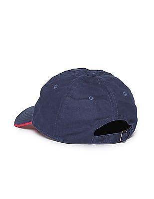 Izod Applique Logo Panelled Cap