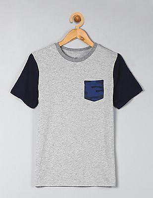 GAP Boys Print Crewneck T-Shirt