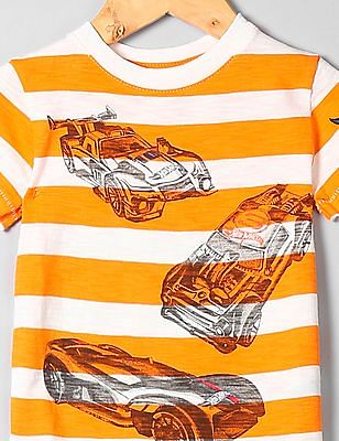 GAP Toddler Boy Hot Wheels Graphic T-Shirt