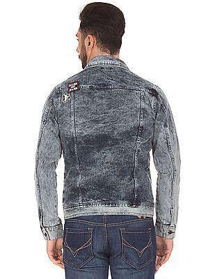 Colt Appliqued Denim Jacket
