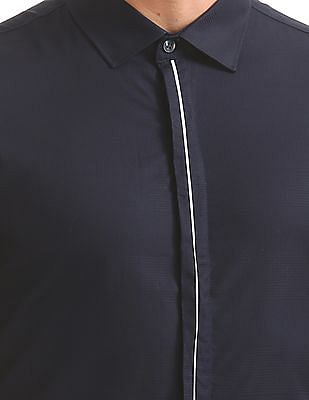 Excalibur Striped Super Slim Fit Shirt