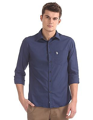 U.S. Polo Assn. Regular Fit Solid Shirt