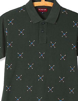 U.S. Polo Assn. Kids Boys Printed Polo Shirt