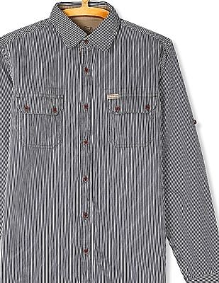 Flying Machine Roll Up Sleeve Striped Shirt