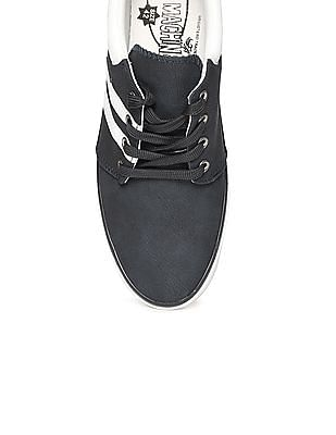 Flying Machine Pebble Grain Lace Up Sneakers