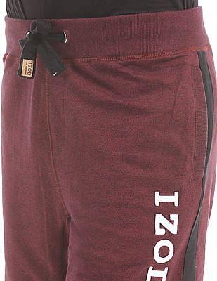 Izod Heathered Drawstring Waist Shorts
