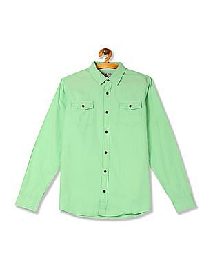 FM Boys Boys Regular Fit Long Sleeve Shirt
