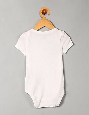 GAP Baby White Pack Of 3 Favourite Stripe Bodysuits