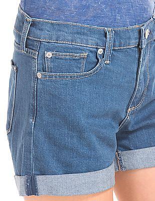 GAP Women Blue Authentic 1969 Summer Shorts