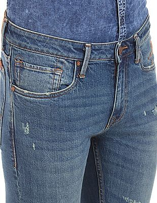 Ed Hardy Whiskered Super Slim Fit Jeans