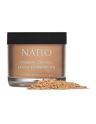 NATIO Mineral Crystal Loose Foundation - Tan