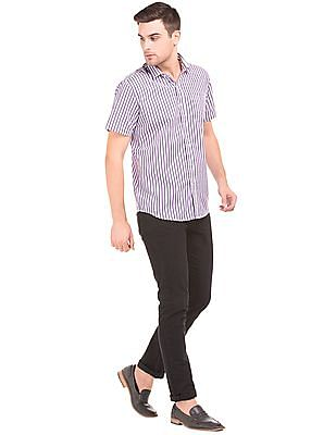 Excalibur Short Sleeve Striped Shirt