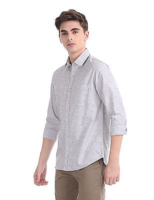 Izod Slim Fit Spread Collar Shirt