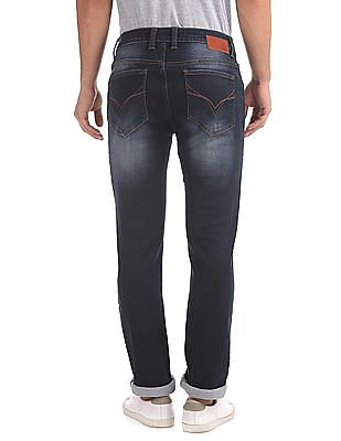 Flying Machine Slim Tapered Fit Mid Rise Jeans