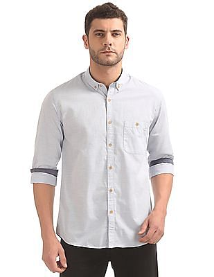 Cherokee Button Down Patterned Shirt