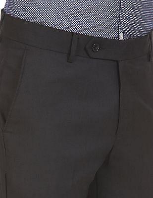 Excalibur Flat Front Slim Fit Trousers