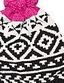 GAP Crazy Fair Isle Merino Wool Blend Beanie