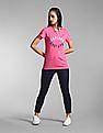 GAP Pink Logo Short Sleeve Crewneck T-Shirt
