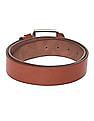 Colt Brown Metallic Buckle Textured Belt