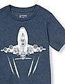 The Children's Place Toddler Boy Short Sleeve Plane Graphic Tee