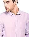 Excalibur Striped Slim Fit Shirt