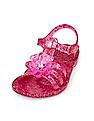 The Children's Place Toddler Girl Flower Jubilee Jelly Sandal