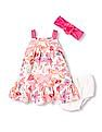 The Children's Place Baby Girl Butterfly Dress Set