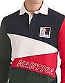 Nautica Classic Fit Colour Block Polo Shirt