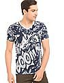 Colt Abstract Print Cotton T-Shirt