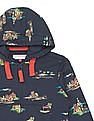 U.S. Polo Assn. Kids Boys Printed Hooded Sweatshirt
