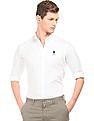 U.S. Polo Assn. Solid Slim Fit Shirt