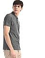 Ruggers Grey Welt Pocket Pique Polo Shirt