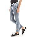 U.S. Polo Assn. Women Skinny Fit Acid Wash Jeans