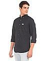 U.S. Polo Assn. Denim Co. Button Down Collar Printed Shirt
