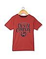 U.S. Polo Assn. Kids Boys Crew Neck Printed T-Shirt