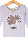 The Children's Place Baby Long Sleeve Lace Back Top