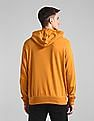 GAP Orange Hooded Logo Sweatshirt