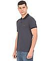 Arrow Sports Regular Fit Washed Polo Shirt
