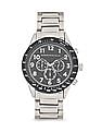 Aeropostale Metal Strap Chronograph Watch